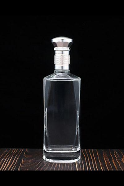 新款晶白玻璃瓶-006